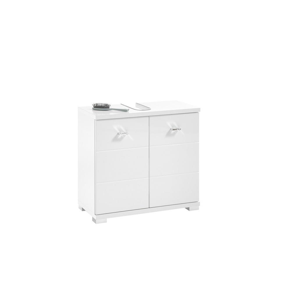 Livetastic Waschbeckenunterschrank weiß