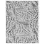 Flachwebeteppich Schwarz/Weiß Eleonore 120x170 cm - Schwarz/Weiß, Basics, Textil (120/170cm) - Luca Bessoni