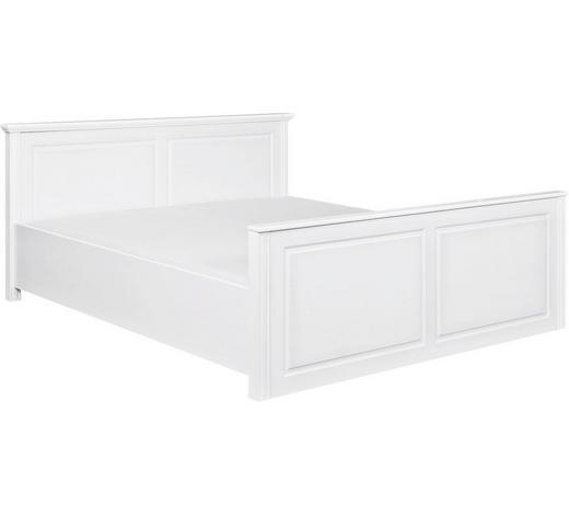 BETT 160/200 cm - Weiß, LIFESTYLE, Holz (160/200cm) - Carryhome