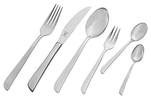 PRIBOR ZA JELO - boje srebra, Konvencionalno, metal - NOVEL