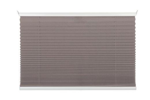 PLISSEE  halbtransparent   80/130 cm - Taupe, KONVENTIONELL, Textil (80/130cm) - Homeware