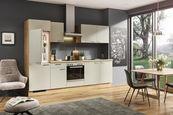 KUHINJSKI BLOK električni aparati, sistem za mehko in tiho zapiranje   - hrast/svetlo siva, Konvencionalno, leseni material (280cm) - Welnova