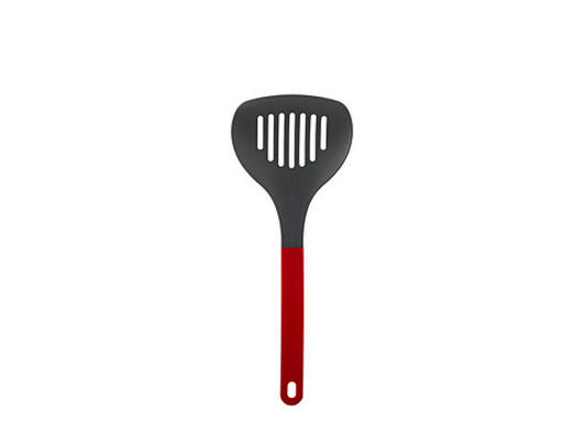 Woklöffel - Anthrazit/Rot, Basics, Kunststoff (29cm) - Mepal Rosti
