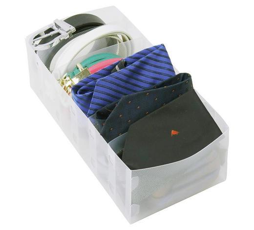 SORTIMENTSKASTEN - Transparent, Basics, Kunststoff (31/15cm)