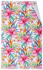 HAMAMTUCH 90/150 cm - Rosa/Grün, Trend, Textil (90/150cm)