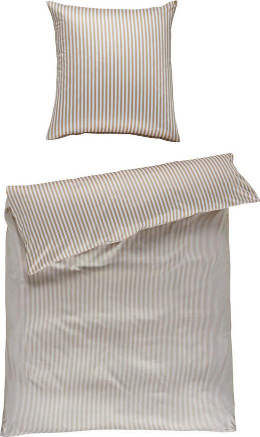 BETTWÄSCHE Satin Braun 155/220 cm - Braun, Basics, Textil (155/220cm) - Janine