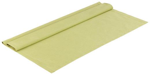 TISCHDECKE Textil Leinwand, Struktur Grün 80/80 cm - Grün, Basics, Textil (80/80cm) - Novel