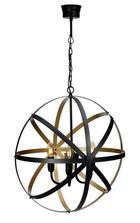 TAKLAMPA - svart/guldfärgad, Lifestyle, metall (57cm)