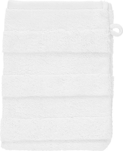 WASCHHANDSCHUH  Weiß - Weiß, Basics, Textil (16/22cm) - Linea Natura