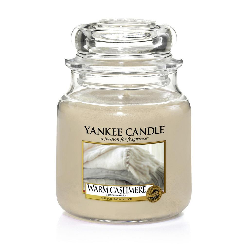 Yankee Candle Duftkerze yankee candle warm cashmere
