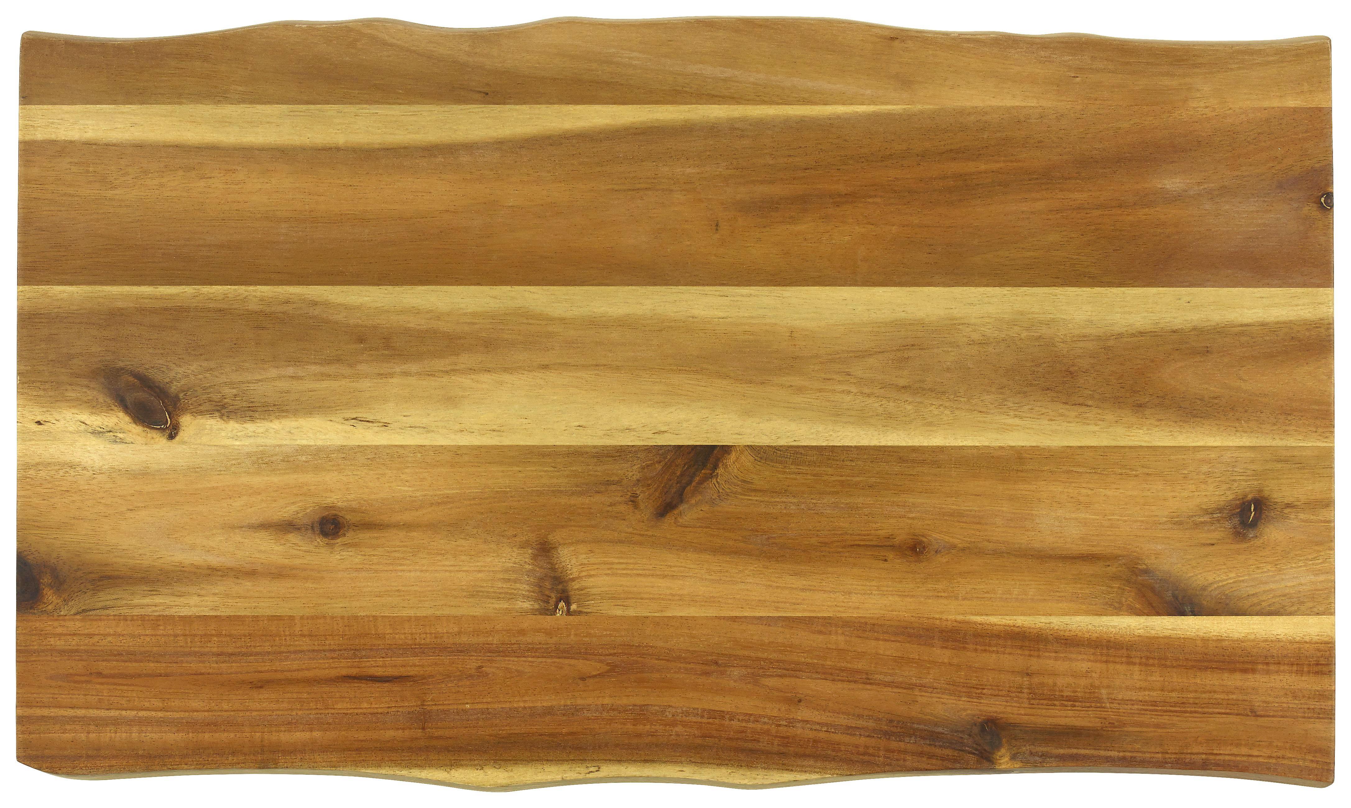 SCHNEIDEBRETT Holz Akazie - Naturfarben, LIFESTYLE, Holz (45/27/2cm) - HOMEWARE