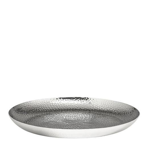DEKOSCHALE - Silberfarben, Metall (43cm) - Loft