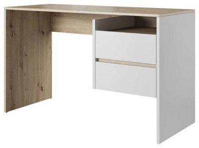 P & B Schreibtisch weiß