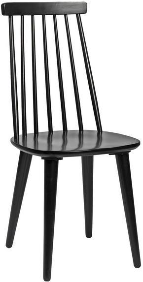 STOL - svart, Design, trä/träbaserade material (43/92/50cm) - Rowico