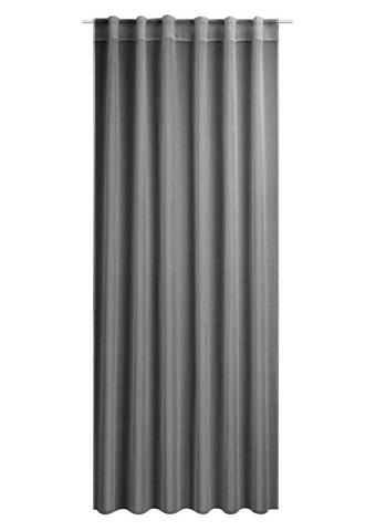 ZAVESA Z ZANKAMI TOSCA - siva, Konvencionalno, tekstil (140/245cm) - Esposa