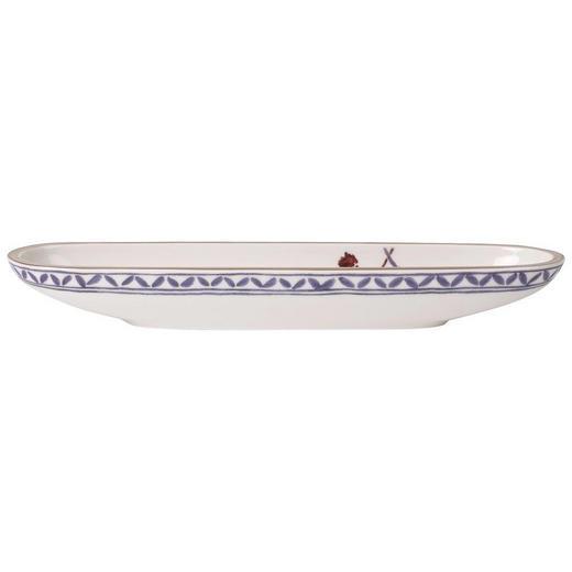 OLIVENSCHALE Keramik Porzellan - Multicolor/Weiß, LIFESTYLE, Keramik (8/28cm) - Villeroy & Boch