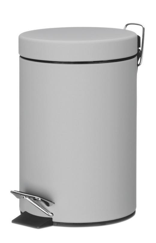 KOSMETIKEIMER 3 L - Grau, Basics, Metall (17/26cm)