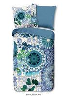 BETTWÄSCHE Satin Blau - Blau, Trend, Textil (135/200cm)
