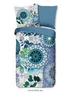 BETTWÄSCHE Satin Blau 135/200 cm  - Blau, Trend, Textil (135/200cm)