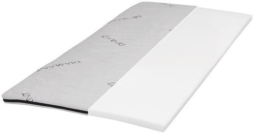 TOPPER 90/200 cm Kaltschaumkern - Weiß, Basics, Textil (90/200cm) - Carryhome