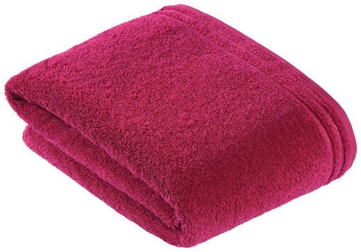 BADETUCH 100/150 cm - Pink, Basics, Textil (100/150cm) - VOSSEN