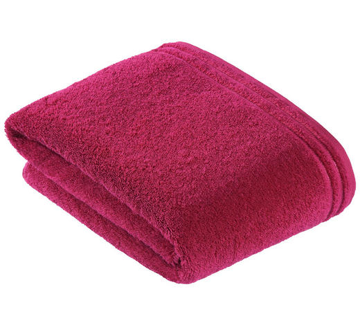 BADETUCH - Pink, Basics, Textil (100/150cm) - Vossen