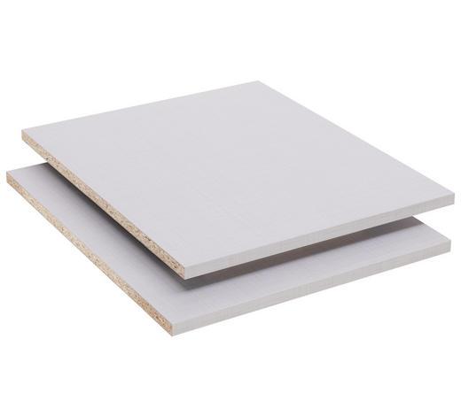 EINLEGEBODEN - Grau, Design, Holzwerkstoff (47/2/44cm) - Xora