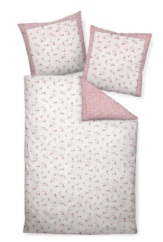 BETTWÄSCHE Makosatin Rosa 135/200 cm - Rosa, ROMANTIK / LANDHAUS, Textil (135/200cm) - JANINE