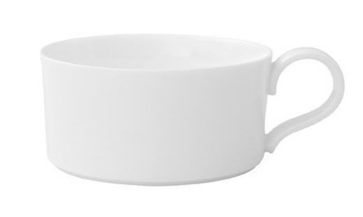TEETASSE - Weiß, Basics, Keramik (0,23l) - Villeroy & Boch