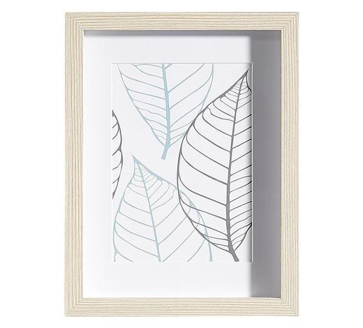 BILDERRAHMEN in Eichefarben  - Eichefarben, Basics, Glas/Holz (20/26/3cm)