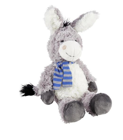 KRAMDJUR - blå/grå, Basics, textil (23cm) - My Baby Lou