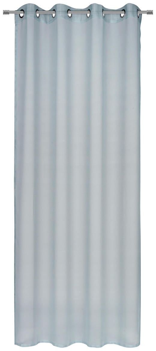 ÖSENSCHAL  transparent  140/245 cm - Weiß, KONVENTIONELL, Textil (140/245cm) - Esposa