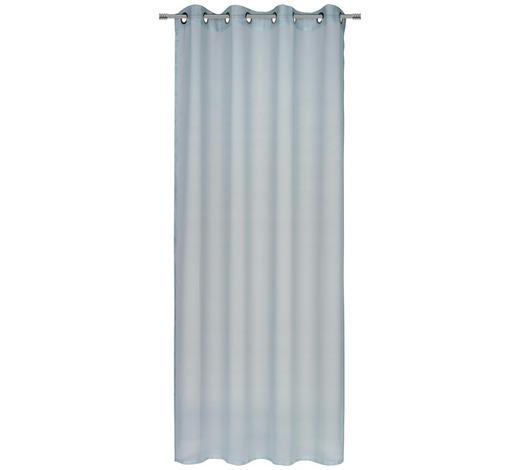 ÖSENVORHANG transparent  - Mintgrün, KONVENTIONELL, Textil (140/245cm) - Esposa