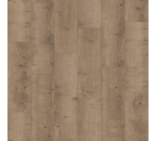 DESIGNBODEN per  m² - Eichefarben/Dunkelgrau, MODERN, Holz/Kunststoff (128,5/19,4/0,8cm) - Parador