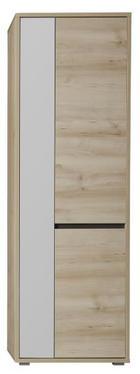 GARDEROBENSCHRANK Braun, Buchefarben - Buchefarben/Braun, Design, Holzwerkstoff (65/200/40cm) - Xora