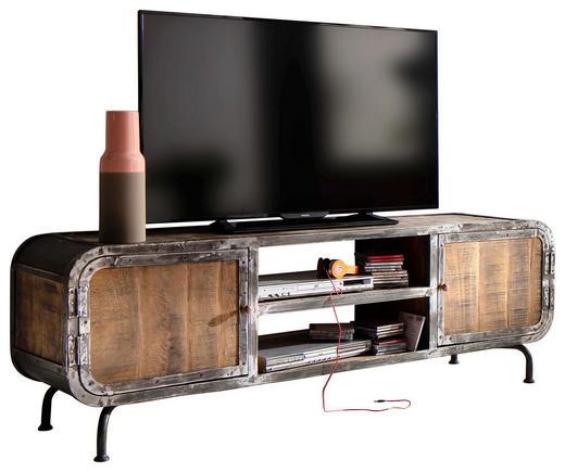 TV-ELEMENT 180/60/45 cm - Multicolor, Trend, Holz/Metall (180/60/45cm) - Landscape