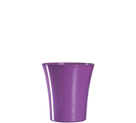 ORCHIDEENÜBERTOPF - Lila, Basics, Glas (15cm) - Leonardo