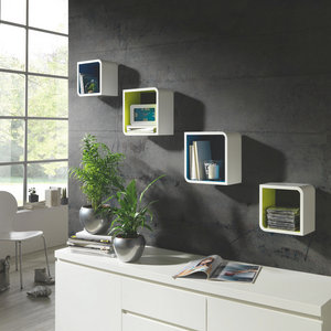 WANDREGALSET Grün, Weiß online kaufen ➤ XXXLutz   Wandregal