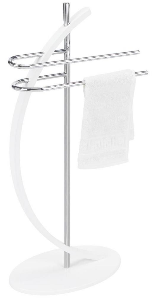 HANDTUCHHALTER - Chromfarben/Weiß, Basics, Holzwerkstoff/Metall (45/88/25cm) - Xora