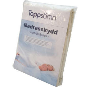 MADRASSKYDD - vit, Basics, textil (160/200cm)