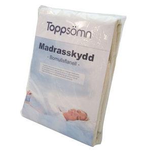 MADRASSKYDD - vit, Basics, textil (90/200cm)