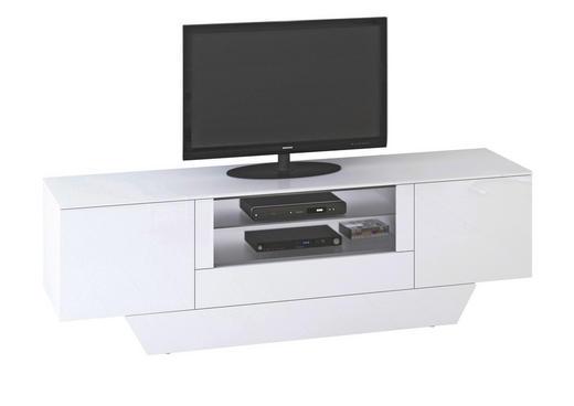 TV-ELEMENT Weiß - Weiß, Basics (213/68/45cm)