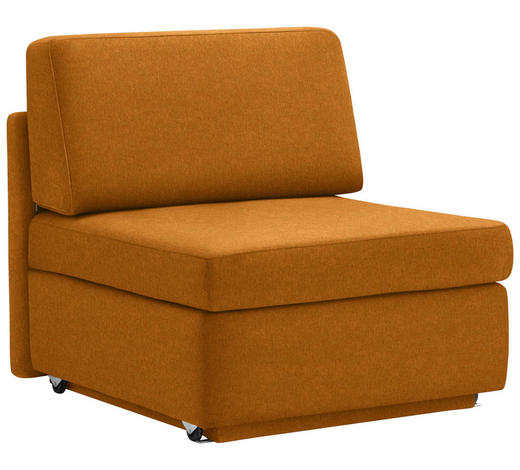 SCHLAFSESSEL in Textil Orange - Orange, KONVENTIONELL, Textil (91/88/94cm) - Venda