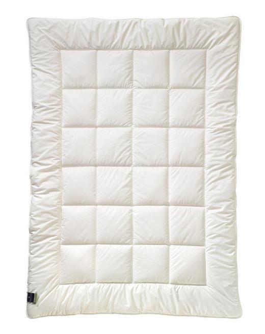 PREŠITA ODEJA ALCANDO UNO - bela, Konvencionalno, tekstil (140/220cm) - Billerbeck