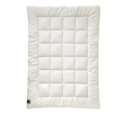 PŘIKRÝVKA CELOROČNÍ, 140/220 cm, polyester - bílá, Basics, textil (140/220cm) - Billerbeck