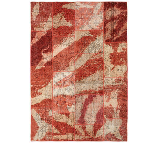 KOBEREC ORIENTÁLNÍ, 170/240 cm, červená - červená, Trend, textil (170/240cm) - Esposa