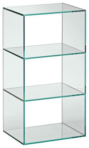 HYLLA - Design, glas (40/75/30cm) - Xora
