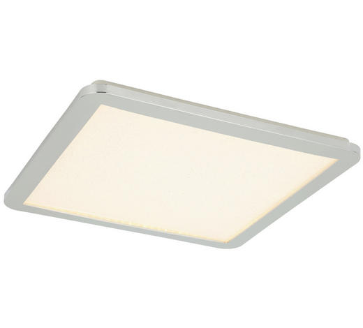LED-PANEEL - Chromfarben, Basics, Kunststoff/Metall (30/30cm) - Novel