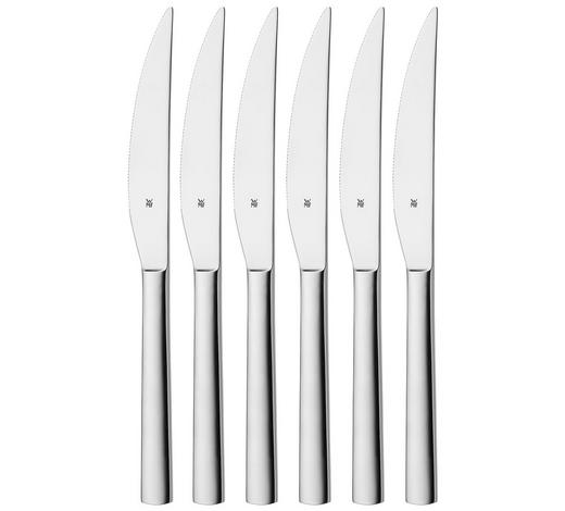 STEAKMESSERSET 6-teilig  - Edelstahlfarben, Basics, Metall (23cm) - WMF