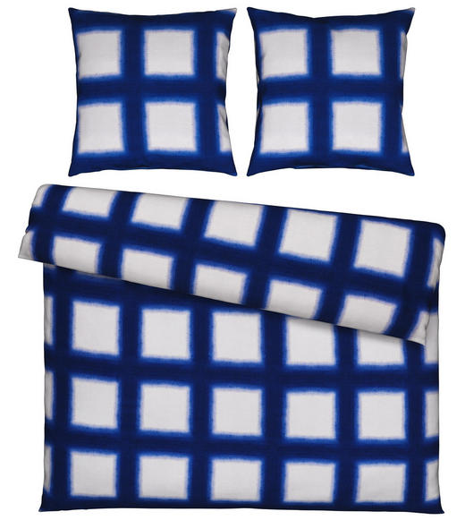 BETTWÄSCHE Satin Blau 200/200 cm - Blau, Design, Textil (200/200cm) - Esposa